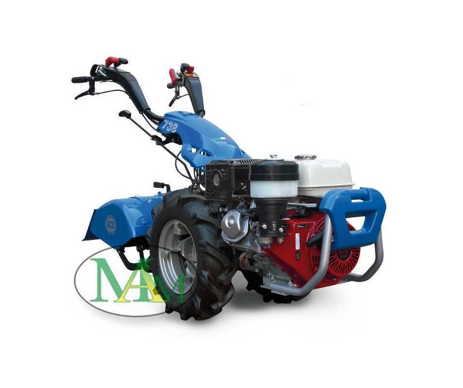 Motocoltivatore BCS 738 HONDA GX340 10,7 HP benzina