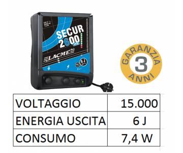 Elettrificatore 230V - Secur 2600