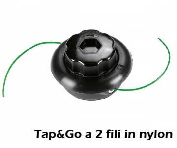 Testina Ø 105 mm - filo nylon Ø 1,65 mm - rotazione antiorario