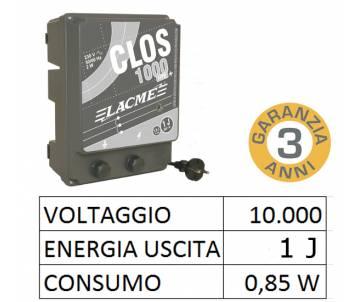 Elettrificatore 230V - Clos 1000