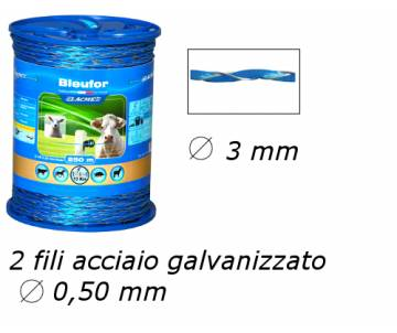 Filo per recinzioni elettriche - Bleufor
