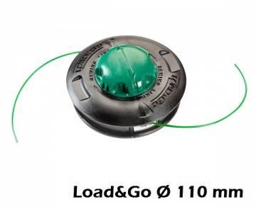decespugliatore - Testina Ø 110 mm Load&Go - filo 2,40 mm