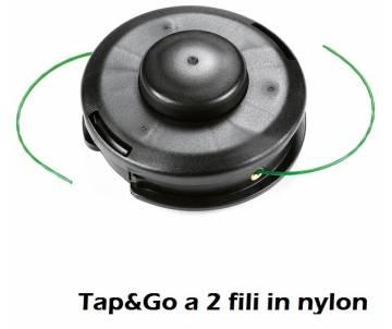 Testina Ø 130 mm - filo nylon Ø 3 mm - rotazione antiorario