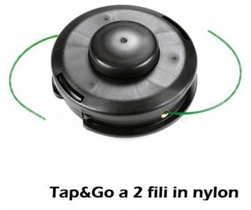 Testina Ø 130 mm - filo nylon Ø 2,40 mm - rotazione antiorario