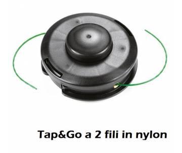 Testina Ø 130 mm - filo nylon Ø 2 mm - rotazione antiorario