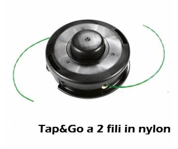 Testina Ø 109 mm - filo nylon Ø 1,60 mm - rotazione antiorario