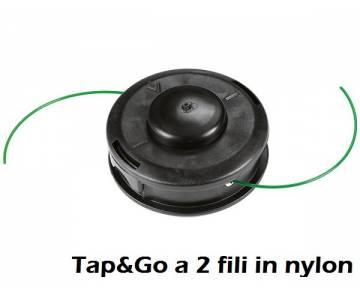 Testina Ø 105 mm - filo nylon Ø 2 mm - rotazione antiorario