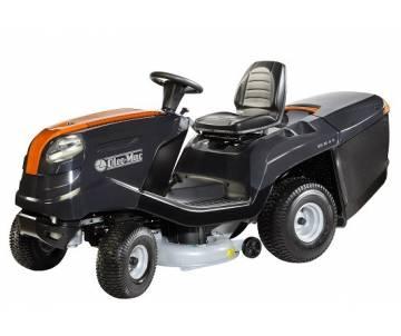 Trattorino Oleo-Mac con scarico posteriore OM 93/16 K - Motore a benzina da 452 cc