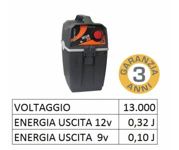 Elettrificatore 9V/12V - SECUR 35