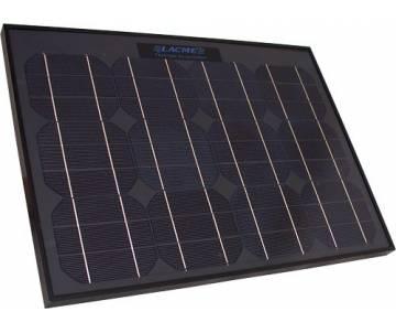Pannello solare Lacme da 25 W + supporto a scomparsa -