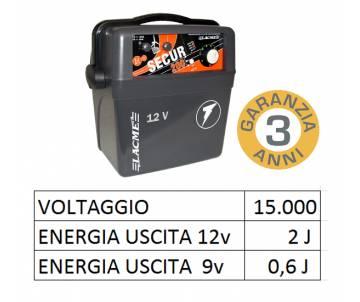 Elettrificatore 12V a batteria - Secur 200