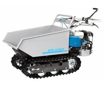 Motocarriola a benzina con ribaltamento idraulico per impiego edile - BTR 1750 D