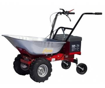Motocarriola elettrica a ruote - Semovente con motore elettrico 300 W a batteria