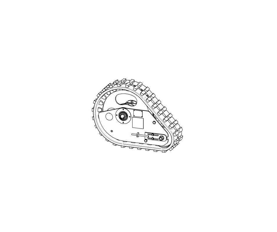 Cingoli con nastri in gomma - Z24P28