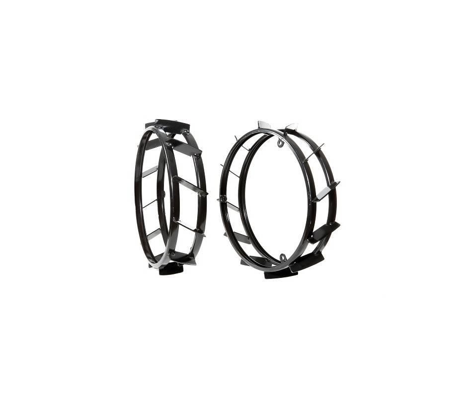 Anelli di gemellaggio per ruote a gabbia cm. 49 (coppia)