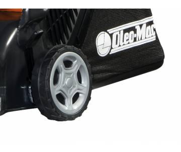 Rasaerba a motore - dettaglio posteriore cesto