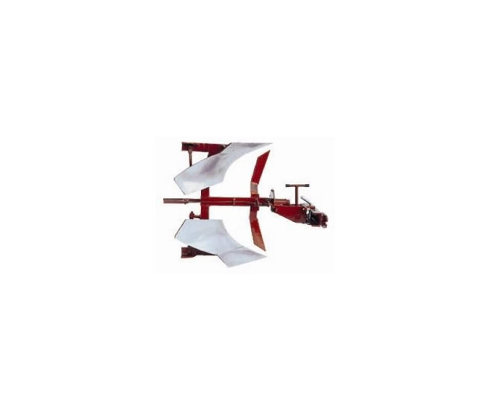 Aratro reversibile 180°  - V180-04 Motocoltivatori 12/14 CV