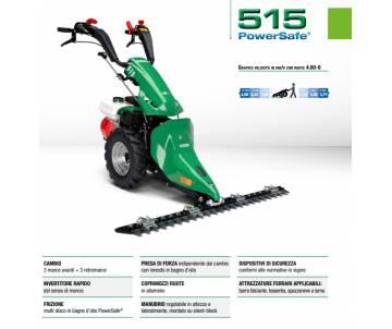Motofalciatrice 515 PS - HONDA GX 200 5,5 HP - Benzina
