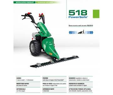 Motofalciatrice 518 PS -...