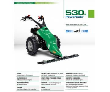 Motofalciatrice 530 S PS - YANMAR LN100 10 HP