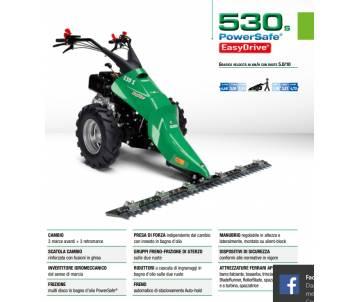 Motofalciatrice 530 S PS ED -YANMAR LN100 10 HP