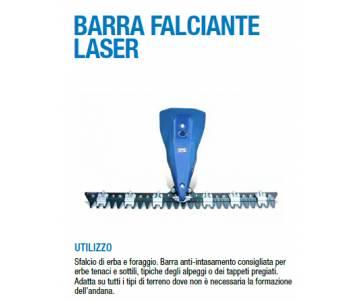 Barra Falciante mt. 1,00 LASER - BCS/FERRARI