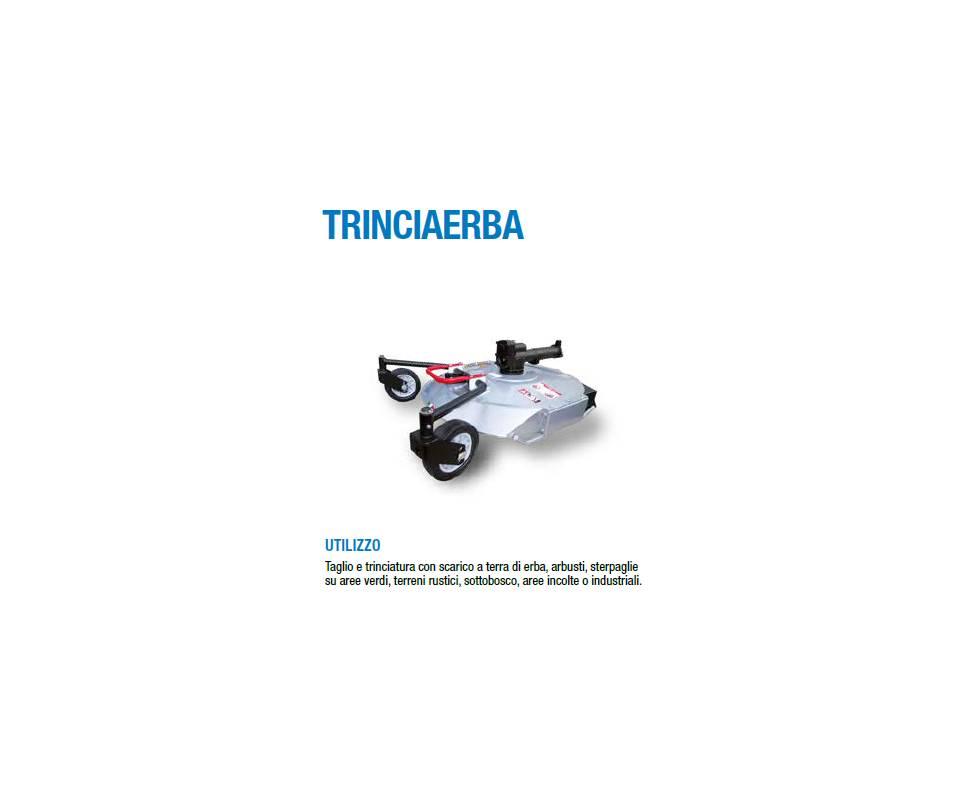 Trinciaerba monolama cm 80 HD Silent - BCS / Ferrari