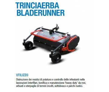 trinciaerba bladerunner per Motocoltivatori