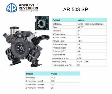 AR 503 SP - Pompa alta...