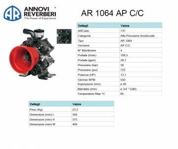 AR 1064 AP C/C - Pompa alta...