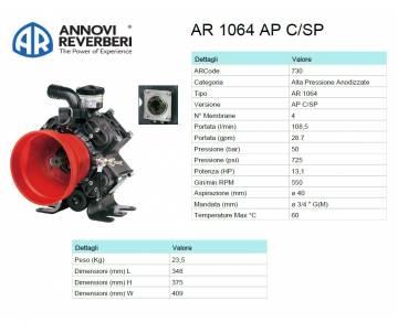 AR 1064 AP C/SP - Pompa...