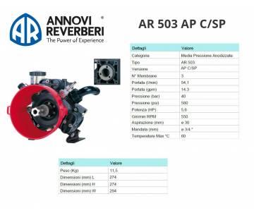 AR 503 AP C/SP - Pompa alta...