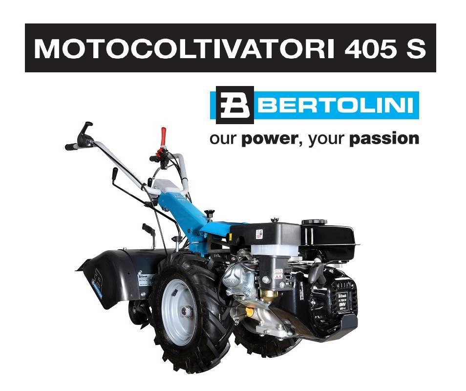 Motocoltivatore Bertolini 405 S - Emak K 800 H