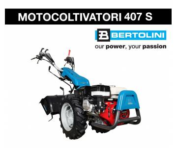 Motocoltivatore Bertolini 407 S - Honda GX 200 5,8 HP