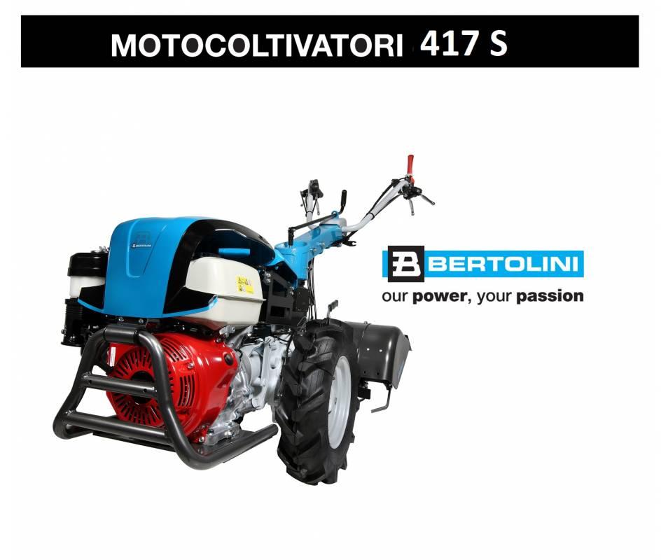 Motocoltivatore 417 S Kohler KD 440 Diesel - 10,9 CV Av E Bertolini