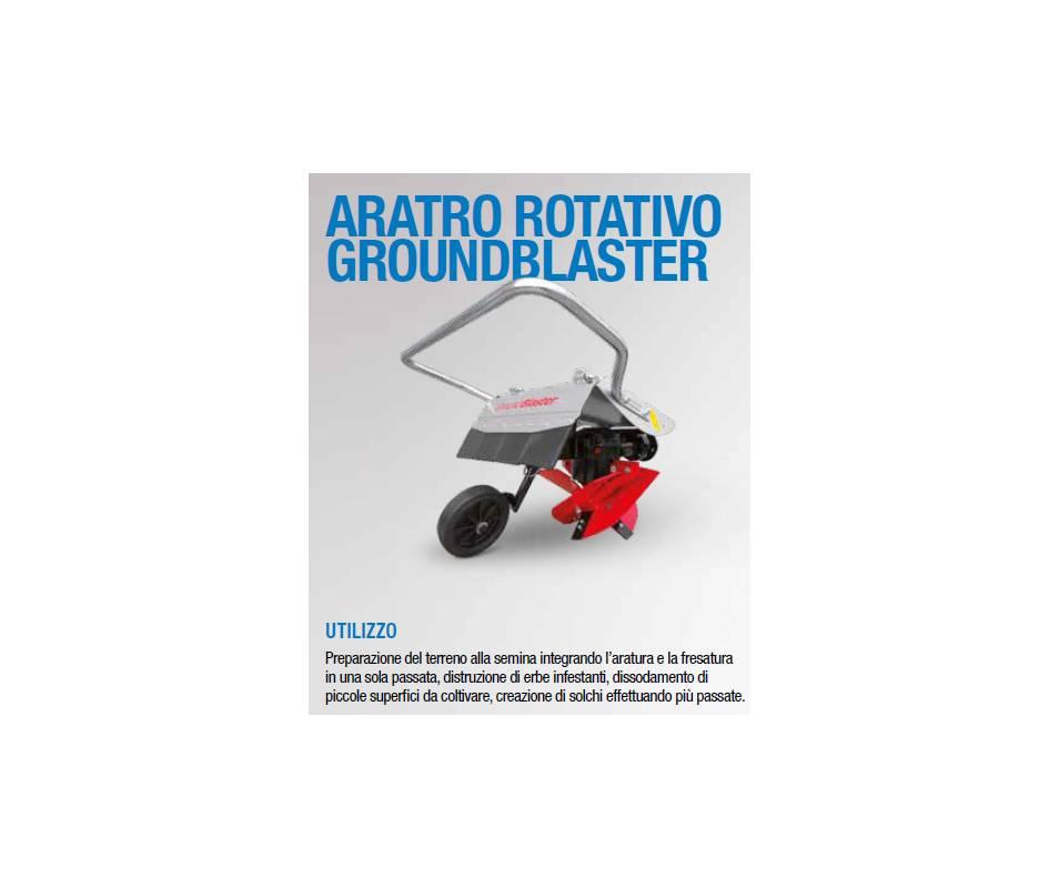 Aratro rotativo Groundblaster - aratura e fresatura contemporanea