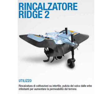 Rincalzatore Ridge2 - per interfilari e pulizia solchi