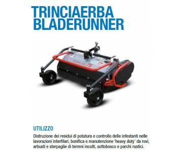 Trinciaerba Bladerunner cm 75 a coltelli mobili - Potenza minima richiesta 8 cv