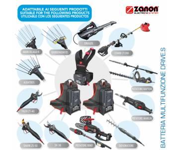 Batteria Li-ion Zanon Drive 604.S - 50,4 V / 5,8 Ah