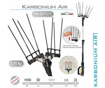 Raccogli olive pneumatico da 6/8 bar - Karbonium Air Zanon Abbacchiatori