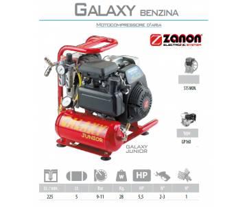 Compressore d'aria a benzina da 225 litri/min - Zanon Junior