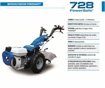 Motocoltivatore BCS 728 - HONDA GP 160 4.8 HP benzina