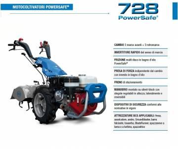 Motocoltivatore BCS 728 - Honda GX200- 5,5 HP