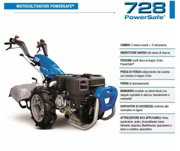 Motocoltivatore BCS 728 -...