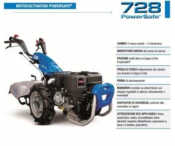 Motocoltivatore BCS 728 - Kohler KD350 7,5 HP Diesel