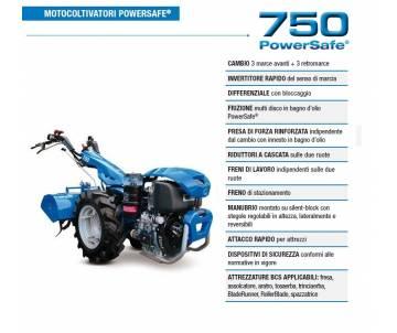 Motocoltivatore BCS 750...