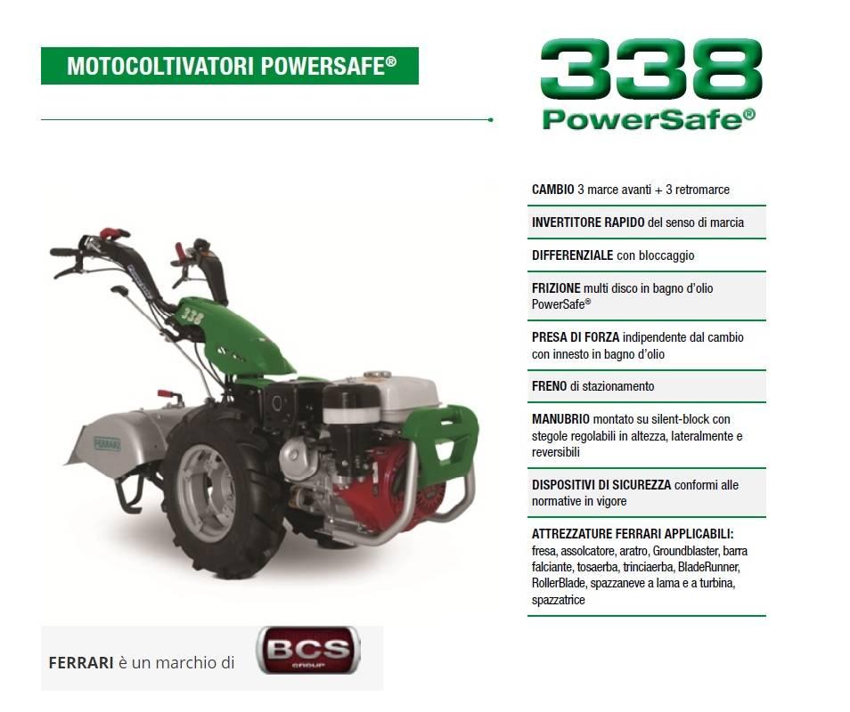FERRARI 338 Kohler KD350 7,5 HP Diesel