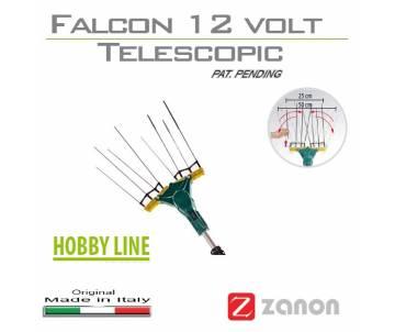 Abbacchiatore elettrico telescopico 210/340 cm Zanon Falcon 12 volt Abbacchiatori