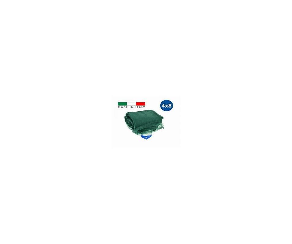TENDA o RETE RACCOLTA OLIVE 4X8 ANTISPINA - 75 gr/mq con occhielli