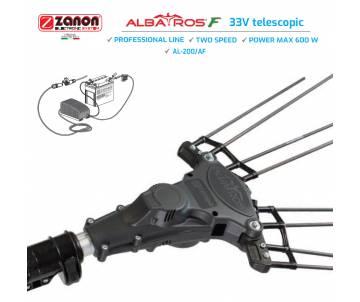 Abbacchiatore a batteria Zanon Albatros 33 volt - asta telescopica 170/250 cm